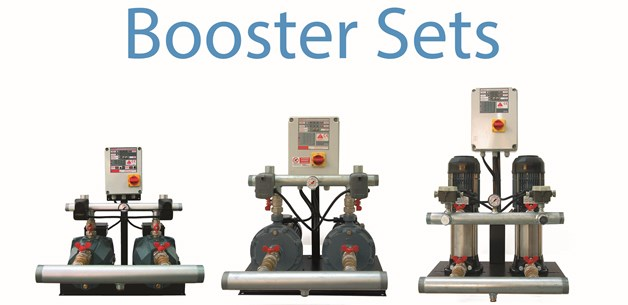 Comex booster set pumps